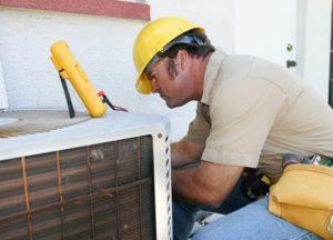 HVAC repairman testimonial